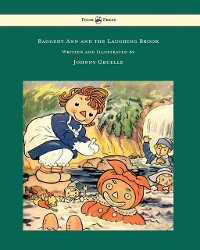 Cover Raggedy Ann and the Laughing Brook - Illustrated by Johnny Gruelle