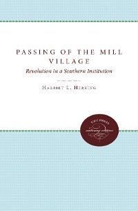 Cover Passing of the Mill Village