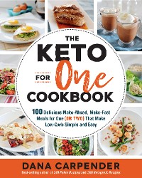 Cover The Keto For One Cookbook