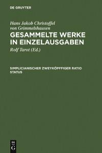 Cover Simplicianischer Zweyköpffiger Ratio Status