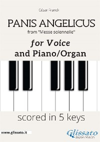 Cover Panis Angelicus - Voice and piano/organ (in 5 keys)