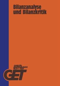 Cover Bilanzanalyse und Bilanzkritik