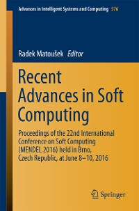 Cover Recent Advances in Soft Computing