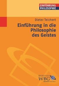 Cover Einführung in die Philosophie des Geistes