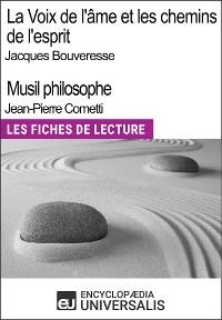 Cover La Voix de l'âme de Jacques Bouveresse et Les chemins de l'esprit de Jean-Pierre Cometti