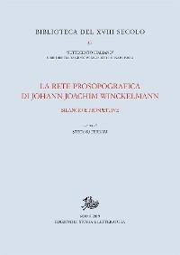 Cover La rete prosopografica di Johann Joachim Winckelmann