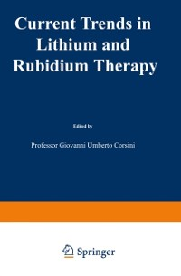Cover Current Trends in Lithium and Rubidium Therapy