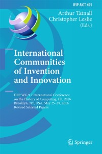 Cover International Communities of Invention and Innovation