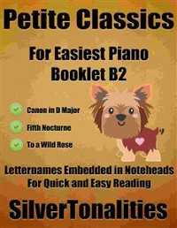 Cover Petite Classics for Easiest Piano Booklet B2