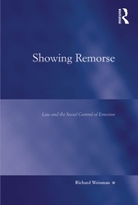 Cover Showing Remorse