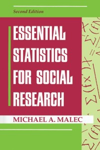 Cover Essential Statistics For Social Research