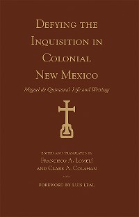Cover Defying the Inquisition in Colonial New Mexico