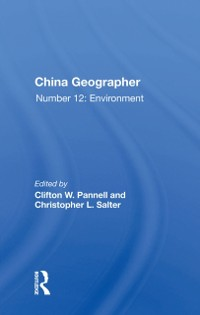 Cover China Geographer