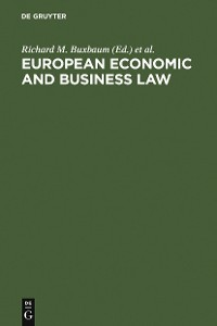 Cover European Economic and Business Law