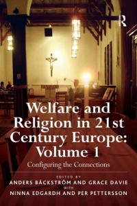 Cover Welfare and Religion in 21st Century Europe