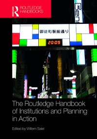 Cover Routledge Handbook of Institutions and Planning in Action
