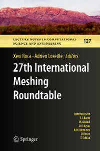 Cover 27th International Meshing Roundtable
