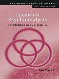 Cover Lacanian Psychoanalysis