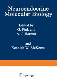 Cover Neuroendocrine Molecular Biology