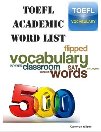 Cover TOEFL Academic Word List