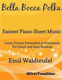 Cover Bella Bocca Polka Easiest Piano Sheet Music