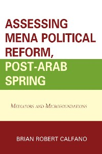 Cover Assessing MENA Political Reform, Post-Arab Spring