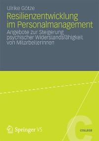 Cover Resilienzentwicklung im Personalmanagement