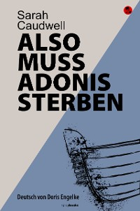 Cover Also muss Adonis sterben