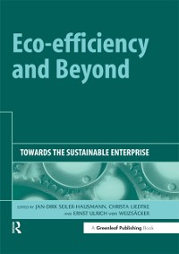Cover Eco-efficiency and Beyond