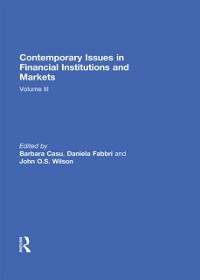 Cover Contemporary Issues in Financial Institutions and Markets