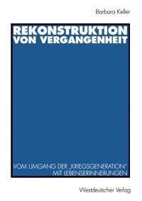 Cover Rekonstruktion von Vergangenheit