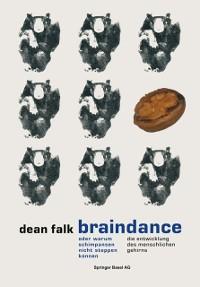 Cover Braindance oder Warum Schimpansen nicht steppen konnen