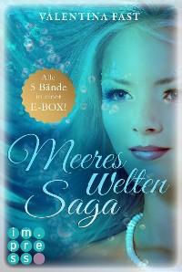 Cover MeeresWeltenSaga: Alle 5 Bände der fantastischen Meerjungfrau-Reihe in einer E-Box!