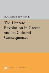 Cover The Literate Revolution in Greece and its Cultural Consequences