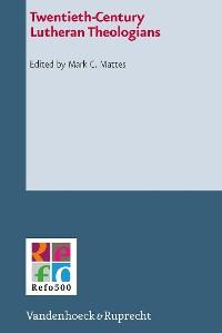 Cover Twentieth-Century Lutheran Theologians