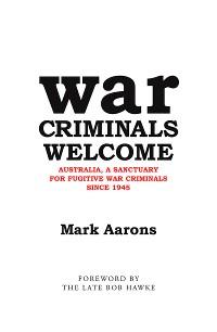Cover War Criminals Welcome