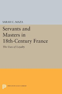 Cover Servants and Masters in 18th-Century France