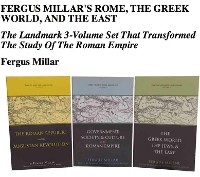 Cover Fergus Millar's Rome, the Greek World, and the East, Omnibus E-book