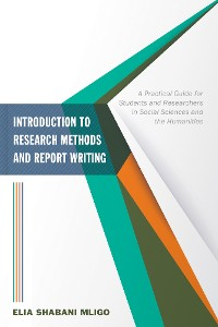 Cover Introduction to Research Methods and Report Writing