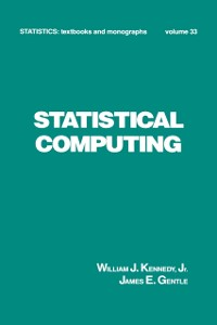 Cover Statistical Computing