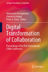Cover Digital Transformation of Collaboration