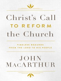 Cover Christ's Call to Reform the Church