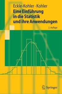 Cover Eine Einfuhrung in die Statistik und ihre Anwendungen