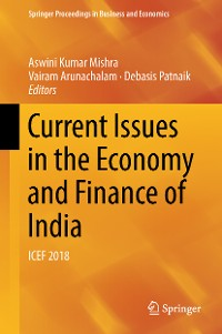 Cover Current Issues in the Economy and Finance of India