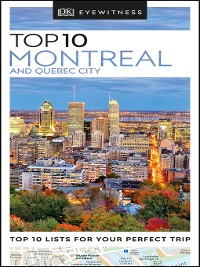 Cover DK Eyewitness Top 10 Montreal and Quebec City
