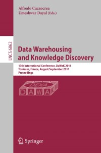 Cover Data Warehousing and Knowledge Discovery