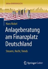 Cover Anlageberatung am Finanzplatz Deutschland