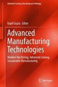 Cover Advanced Manufacturing Technologies