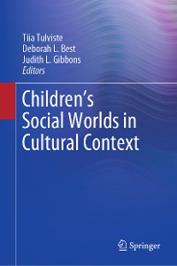 Cover Children's Social Worlds in Cultural Context