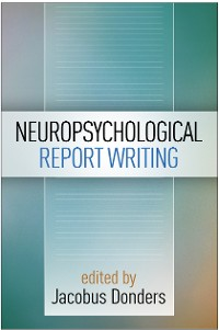 Cover Neuropsychological Report Writing